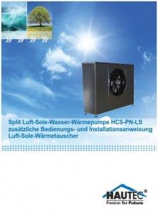 BED0122 - BA Zusatz HCS-PN-LS-2014-2