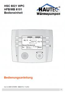 Bedienungsanleitung Controller HSC6021