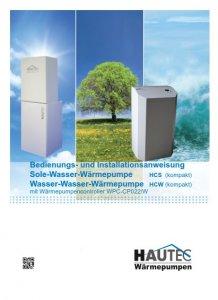 Bedienungsanleitung HCW-HCS 2014D-mit134a