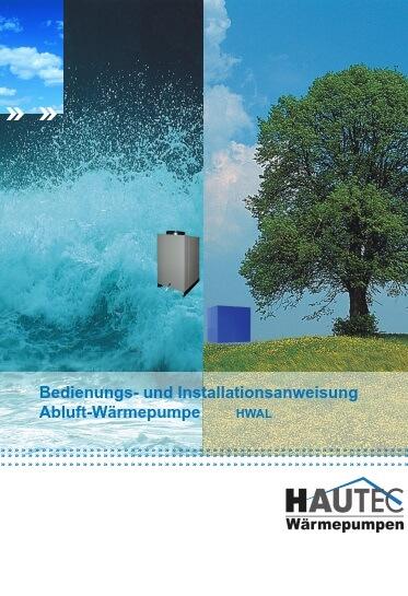 Bedienungsanleitung HWAL 2014D