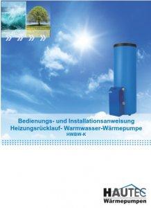 Bedienungsanleitung HWBW-K-2014