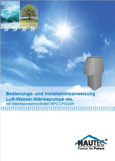 Bedienungsanleitung Luft HWL-I 2019
