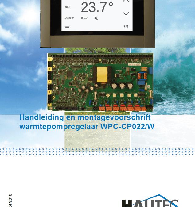 Bedienungsanleitung Controller WPC-CP022/W (NL)