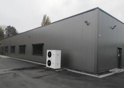 Neubau eines Lagers in Beckum