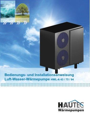Bedienungsanleitung HWL-A 2012-1