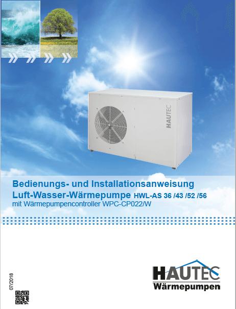 Bedienungsanleitung Luft HWL-AS 2018