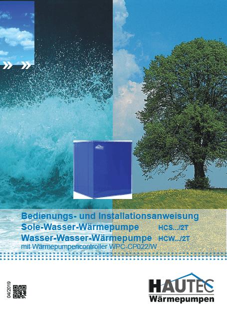 Bedienungsanleitung Sole Wasser HCW HCS Tandem 2019 KEBA