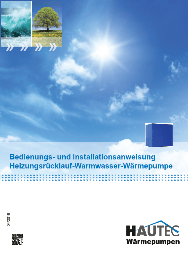 Bedienungsanleitung Warmwasser HWBW-S 2019